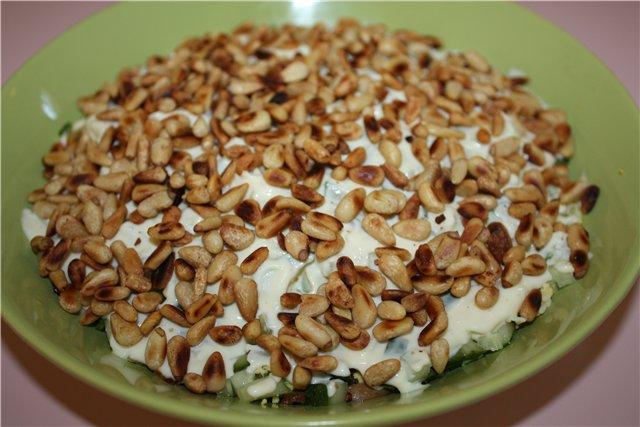 рецепт салата вкусного с фото